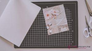 Geburtstagskarte - Schritt 2a