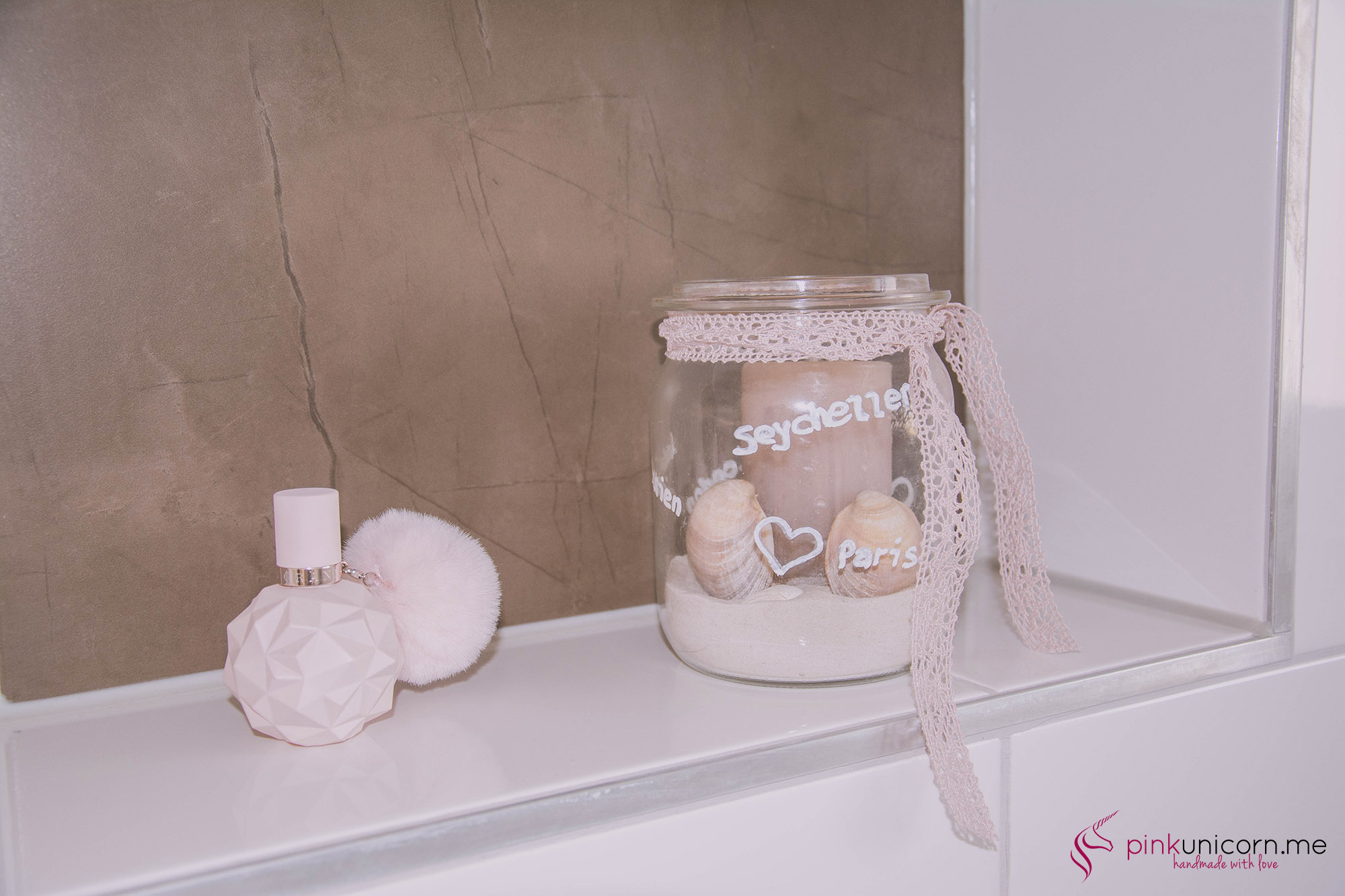 Badezimmerdekoration