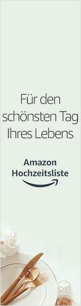 Amazon Hochzeitsliste