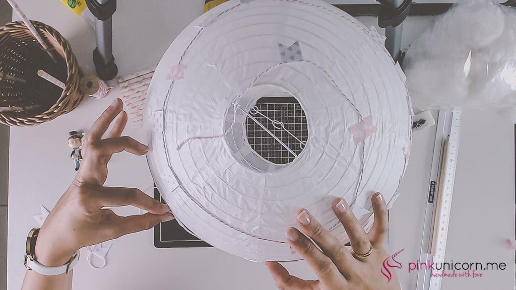 Hochzeitsballon - Schritt 6c