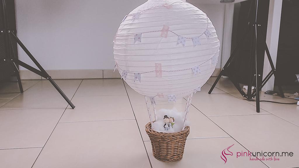 Hochzeitsballon - Schritt 6d