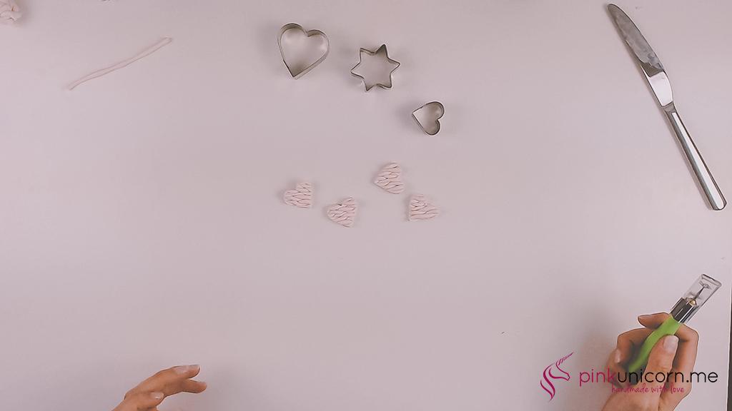 DIY Fimoanhänger - Schritt 5c