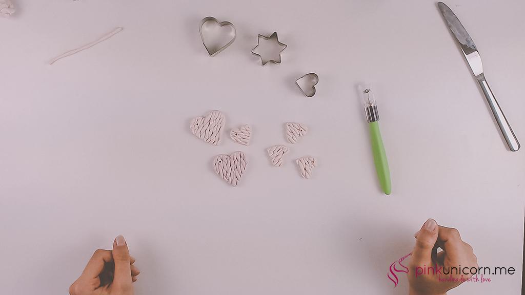 DIY Fimoanhänger - Schritt 5d