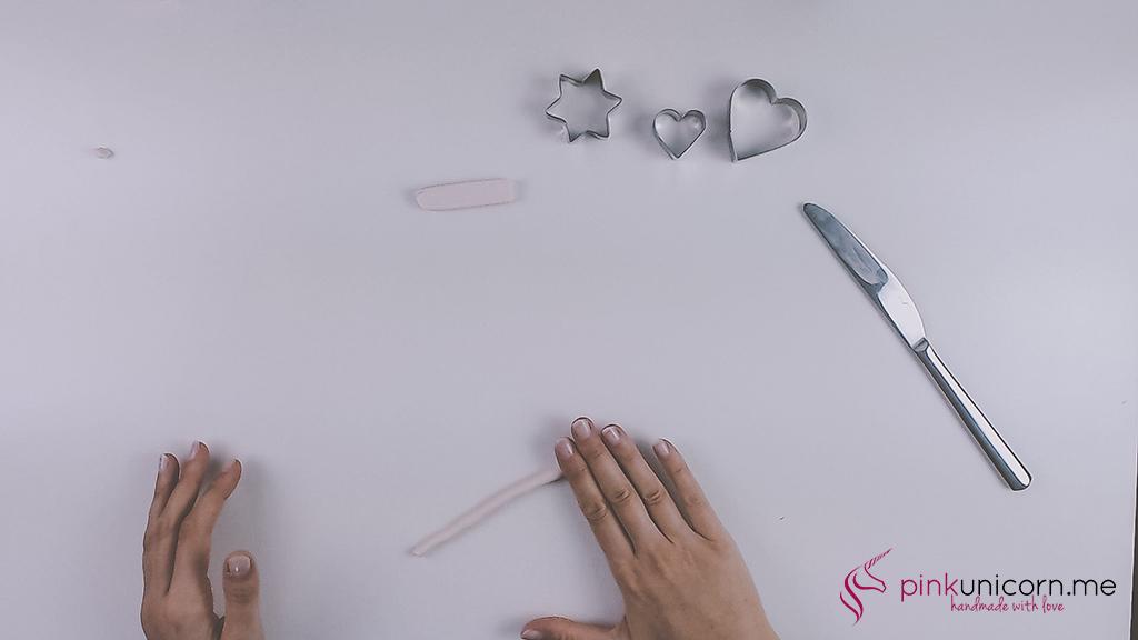 DIY Fimoanhänger - Schritt 2b