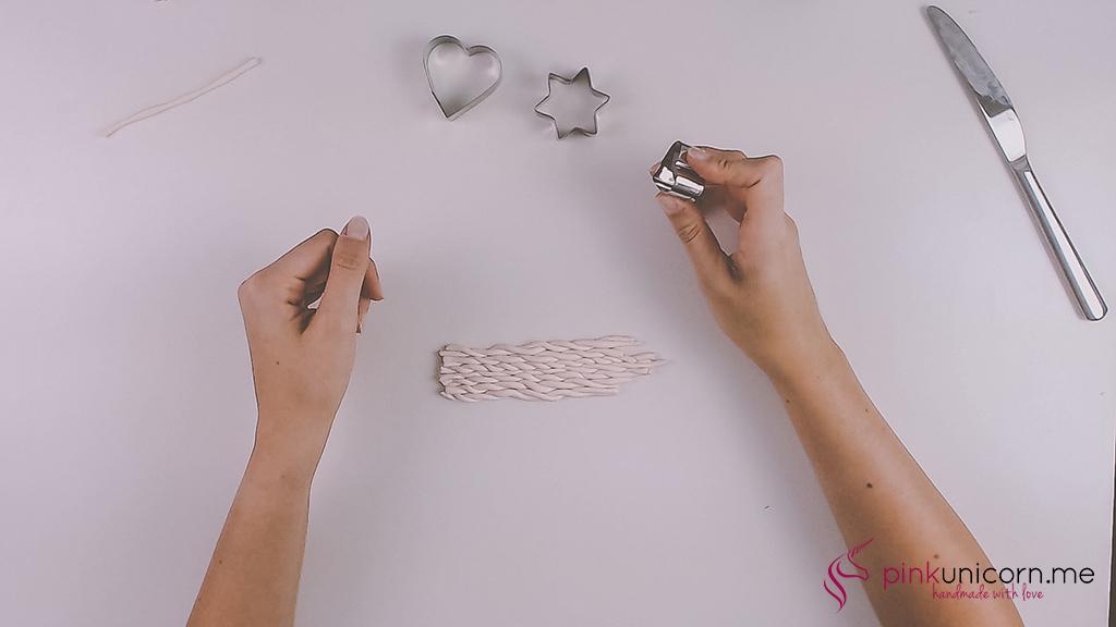 DIY Fimoanhänger - Schritt 5b