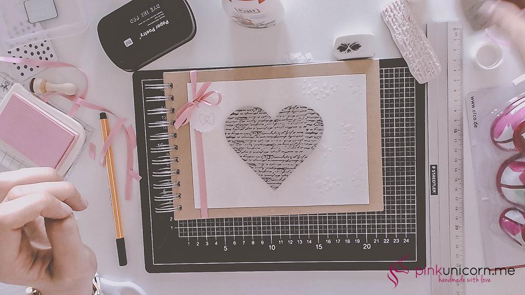 DIY Hochzeitsgeschenk - Hochzeitsbuch - Schritt 4