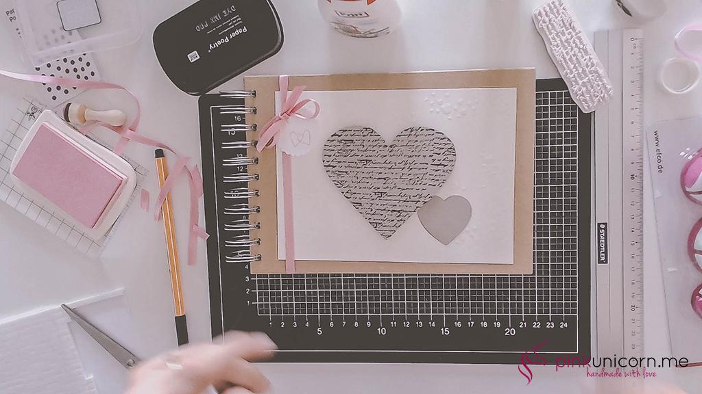 DIY Hochzeitsgeschenk - Hochzeitsbuch - Schritt 5c